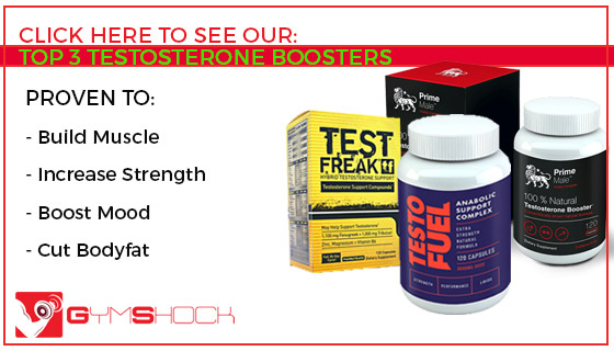 Top 3 Testosterone Boosters