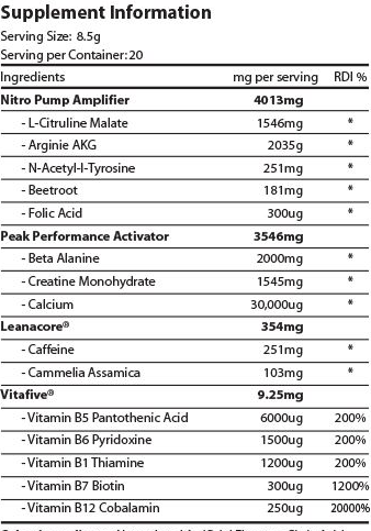 tnt-light-the-fuse-pre-workout-ingredients